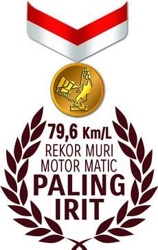 LOGO PIAGAM MURI 79,6 Km per Liter