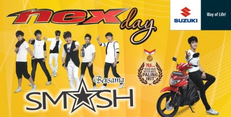 Nex Day with SM*SH, 2 - 3 Juni di MOG