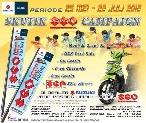 Skutik SGO Campaign 2012