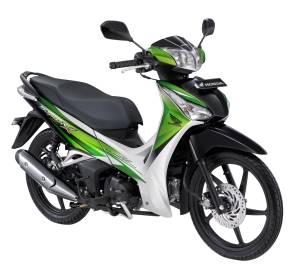 Green Supra X 125 Helm In