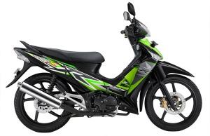 Green SupraX 125 CW