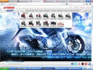 yamaha-motor.co.id ada teasernya aja New V-Xion