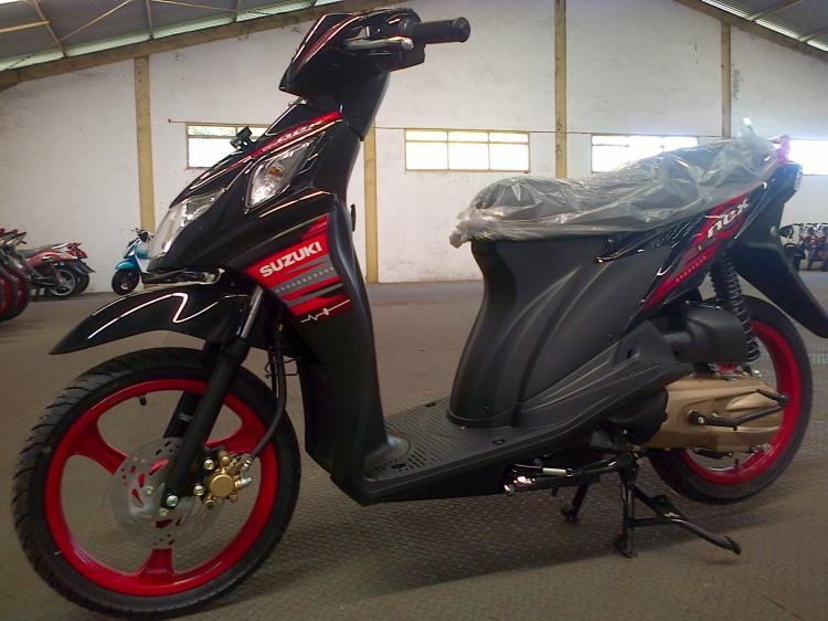 Suzuki Nex Blackfire