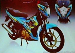 Facelift Suzuki Satria F150