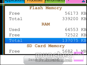 RAM juga masih sisa hampir setengah