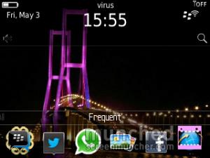 tanda panah di kanan atas hilang ketika diarea WiFi