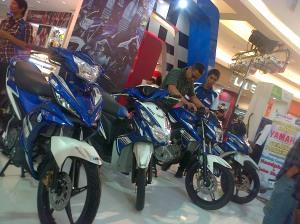 "Yamaha ""Livery Moto GP"", yang dipajang minus type Mio GT"