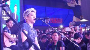 Noah tampil di booth Yamaha di Indonesia Motorcycle Show (3)