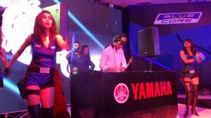 Penampilan DJ Al Ghazali di booth Yamaha Indonesia Motorcycle Show (7)
