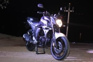 Yamaha All New Byson Fi Silver Bold